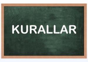 İngilizce Öğrenme Kuralları